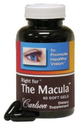 Carlson Labs Right for The Macula To Promote Healthy Vision, 60 Softgels