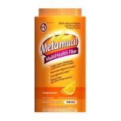 Metamucil Daily Fibre Supplement, 100% Natural Psyllium Husk, Orange Smooth Sugar Fibre Powder, 114 Doses