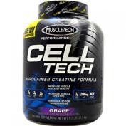 MuscleTech CellTech Creatine Powder, Micronized Creatine, Creatine HCl, Grape, 2.7kg
