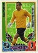 Match Attax Euro 2012 Shay Given Man Of The Match