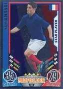 Match Attax Euro 2012 Samir Nasri France Star Player