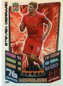 Match Attax 2012/2013 Steven Gerrard Hundred 100 Club Liverpool 12/13