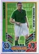 Match Attax Euro 2012 Damien Duff Man Of The Match