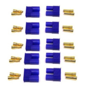 Generic Male/Female EC3 Style Connector w/3.5mm Gold Bullet Plug