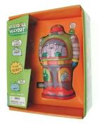 Clockwork robot UglyDoll UglyBot robot Green & Grey