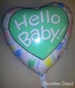 Giant Foil Balloon - Hello Baby