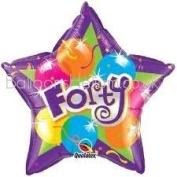 Age 40 Foil Balloon