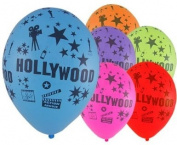 Hollywood Theme 30cm Latex Balloons
