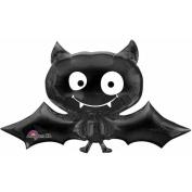 Amscan International Super/ Shape Bat Balloon