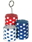Poker Chips Balloons Holder - Photo Holder