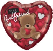 To My Girlfriend Foil Balloon