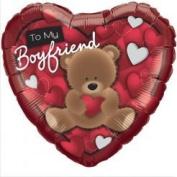 To My Boyfriend Foil Balloon
