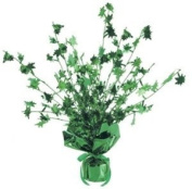 Green Palm Tree Balloon Weight Centrepiece - Single