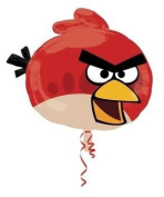 Mayflower Supersize Angry Birds Red Soaring Bird 60cm Foil Balloon - Durable And Attractive Toy / Game / Play / Child / Kid