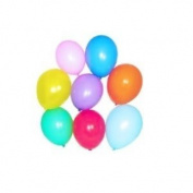 Assorted Standard Colour Balloons (144 pcs per package) - 28cm Inflated Flatex - Great for Birthdays Toy / Game / Play / Child / Kid
