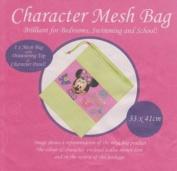 Disney Minnie Mouse Mesh Drawstring Bag PE Gym Swimming Toys 33cm x 41cm