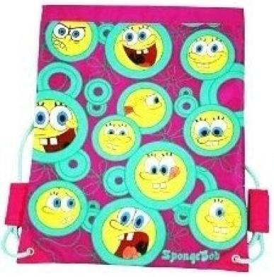 Spongebob Squarepants - Pink Trainer PE Bag - School Bag