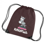 Funky Filly Pony Girls Champion Horse Rider Drawstring Bag Size 45 x 34 cms