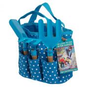 Mini Gardening Set In Blue Bag