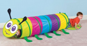 Puregadgets© Chameleon Caterpillar Pop Up Tunnel Tent for Children / Kids / Boys / Girls - Easy to store, Hours of fun Indoor or Outdoor Garden