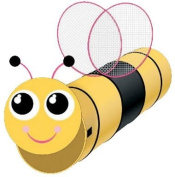 Puregadgets© Bumble Bee Pop Up Play Tunnel for Children / Kids / Boys / Girls - Easy to store, Hours of fun Indoor or Outdoor
