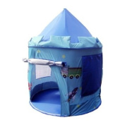 Puregadgets© Prince George Fairy Tale Castle Pop Up Children's Tent with Windows and Roll Up Door Pink Girls Indoor or Outdoor Garden use
