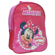 Officially Licenced Disney Minnie Mouse Minnies World Backpack