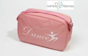 Tappers & Pointers Girl's Shoulder Bag - Pink with Dancer Motif