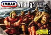 Emhar Viking Oarsmen (9th - 10th Century) - 1:72 Plastic Model Kit