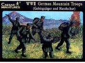 Caesar Miniatures 1/72 WWII German Gebirgsjager Hanschar # 067