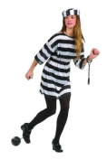 RG Costumes 78008 Convict Girl Costume - Size Teen 16-18