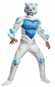 Disguise Monsuno Lock Monster Deluxe Costume White/Blue
