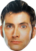 Doctor Who - 10th Doctor - Card Face Mask