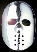 Silver Hockey Face Mask Jason Friday 13Th Halloween Fancy Dress