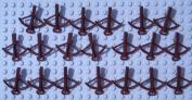 20x Lego Crossbow reddish brown