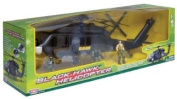 Richmond Toys Motormax New Battle Zone Black Hawk Helicopter