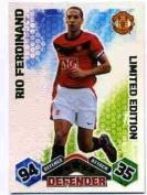 Match Attax 2009/2010 Rio Ferdinand 09/10 Limited Edition Card