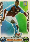 Match Attax 2008/2009 Ashley Young 08/09 Limited Edition Card