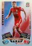 Match Attax 2011/2012 Steven Gerrard 11/12 Limited Edition Card