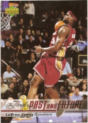 2006 Upper Deck NBA The Finals Basketball Promotional Card #LJ-23 - LeBron James - Cleveland Cavaliers