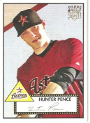 2007 Topps 52 (1952 Rookie Edition) # 30a Hunter Pence (RC - Rookie Card) - Houston Astros - MLB Baseball Trading Card - Shipped
