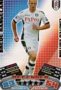 Match Attax 2011/2012 Brede Hangeland 11/12 Limited Edition Card