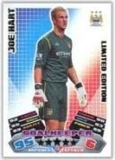Match Attax 2011/2012 Joe Hart 11/12 Limited Edition Card