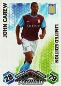 Match Attax 2009/2010 John Carew 09/10 Limited Edition Card