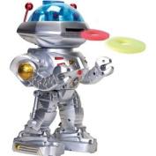 Remote control robot Walks Slides Turns Dances and shoots discs 28cm