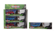 NEW 4 X 4 VEHICLE WITH HORSE BOX TRAILER TOY MODEL BLUE