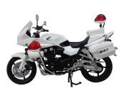 Motorcycle Model CB1300P (White Motorcycle)
