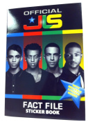 Official JLS Fact File Sticker Book. Includes Reusable Stickers.
