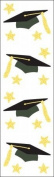 Mrs Grossman MG199-24583 Mrs. Grossmans Stickers-Grad Cap