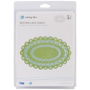Lifestyle Nesting Dies-Lace Ovals, 5 Dies